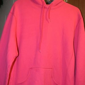 Russell Athletic Womens Pink Pullover Hoodie